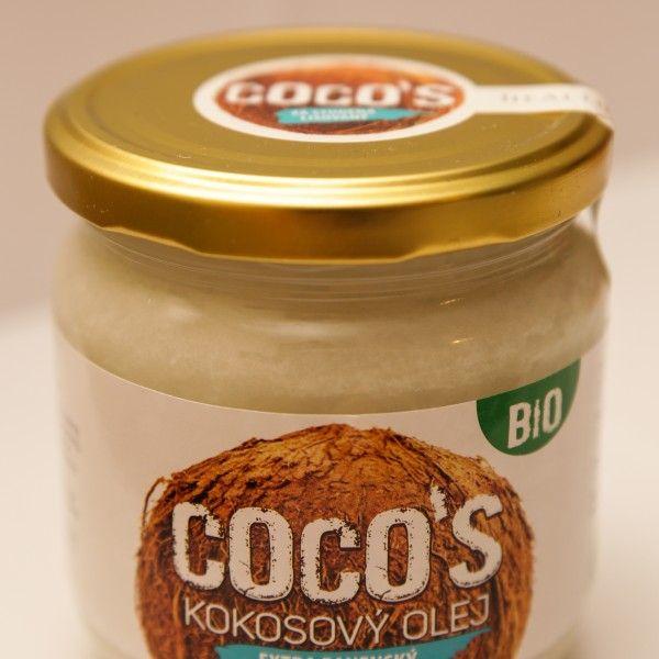 Kokosový olej panenský BIO 400ml
