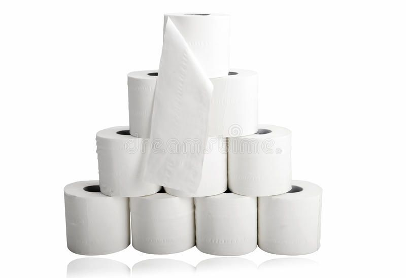Toilet Paper In Pyramid Shape Ten Rolls Of White Toilet Paper On White Backgrou Sponsored Pyramid Shape Toilet Paper Toilet Paper Pyramids Toilet