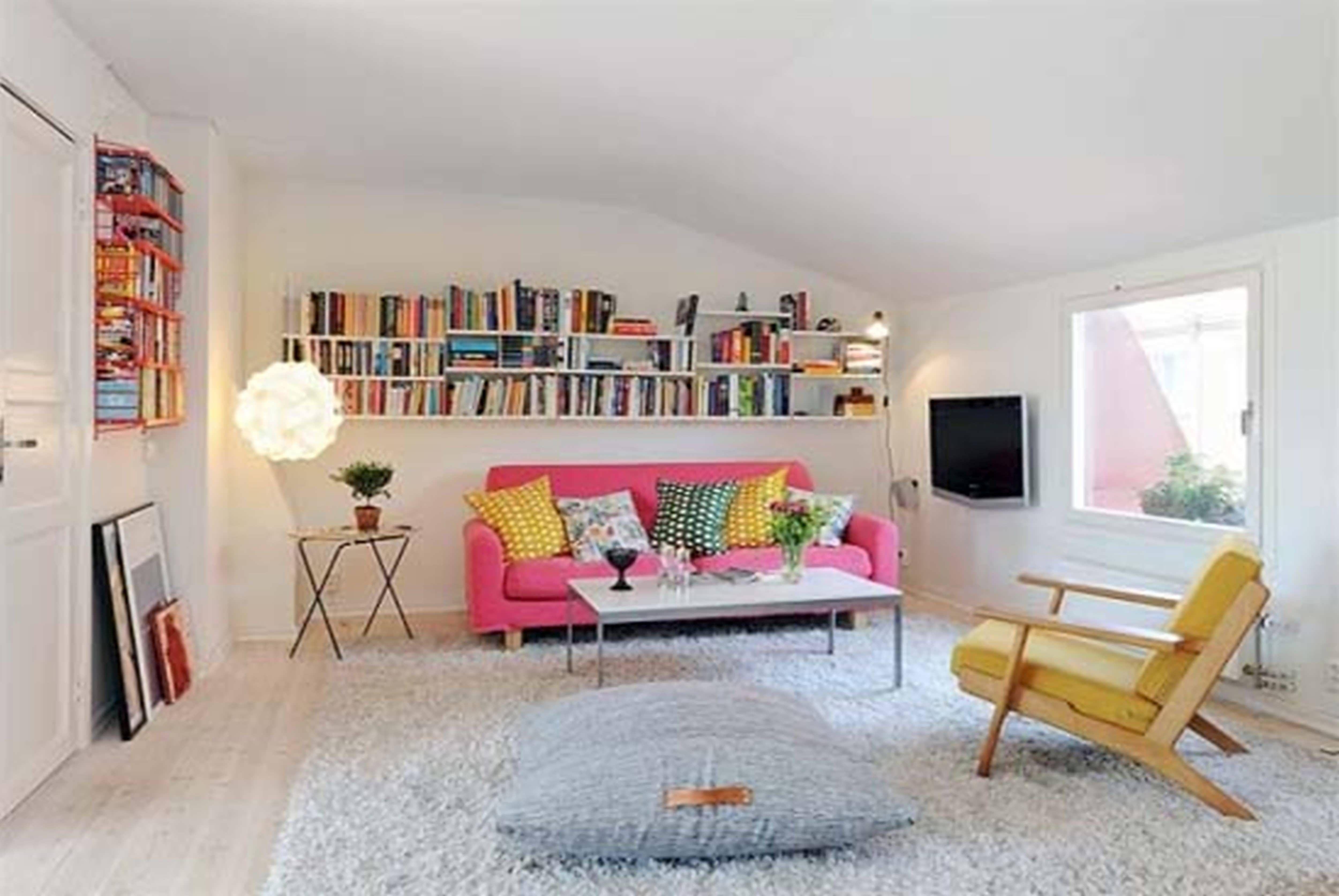 More 5 Elegant Cute One Bedroom Apartment Ideas Small Apartment Decorating Simple Apartment Decor Apartment Interior Decorating