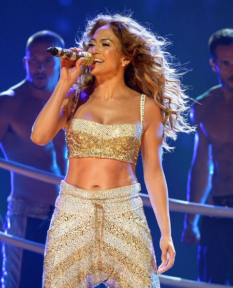 Jennifer Lopez performs at AmericanAirlines Arena on August 31, 2012 in Miami, Florida