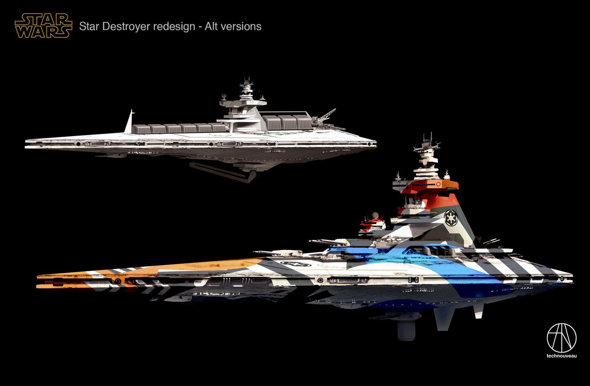 Alternate universe Star Destroyer Redesign. Consider it an ...