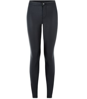 Black super skinny disco jeans