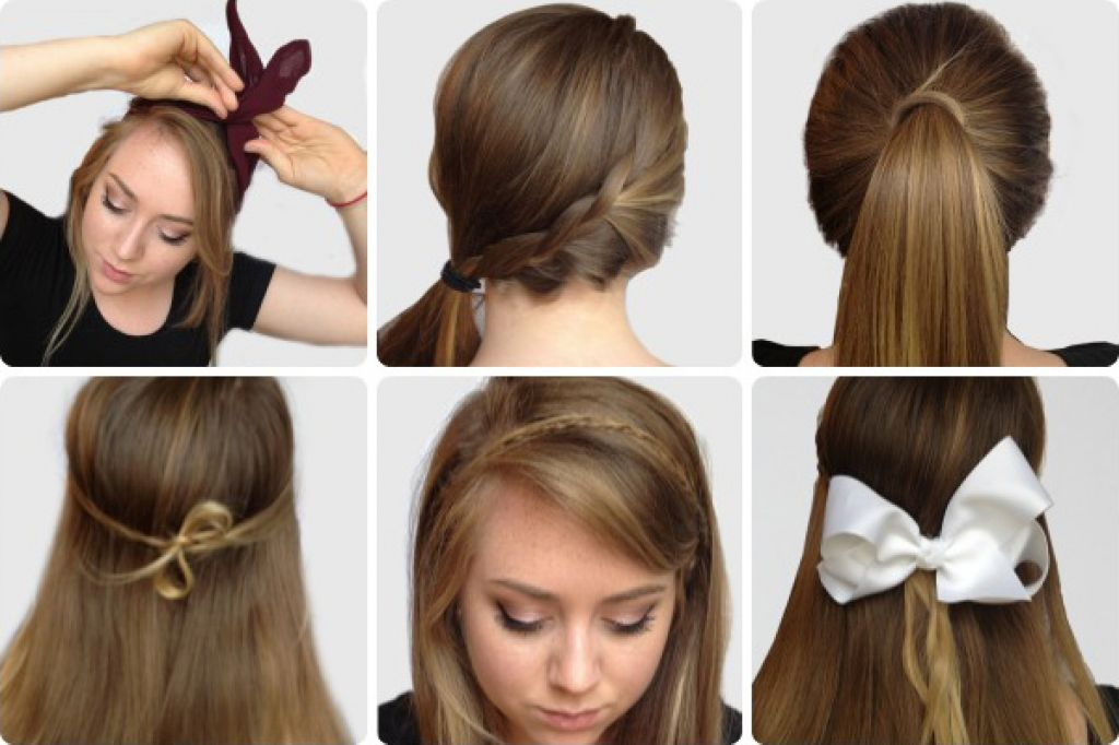 Hairstyles For School Step By