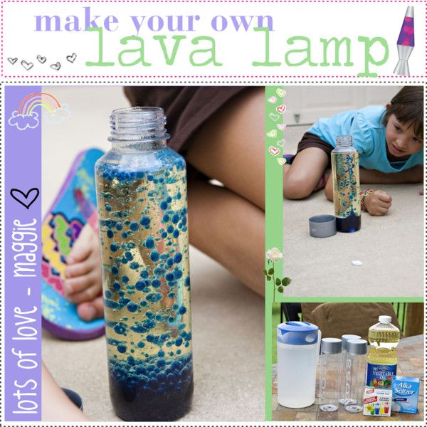 how to make own lava lamp