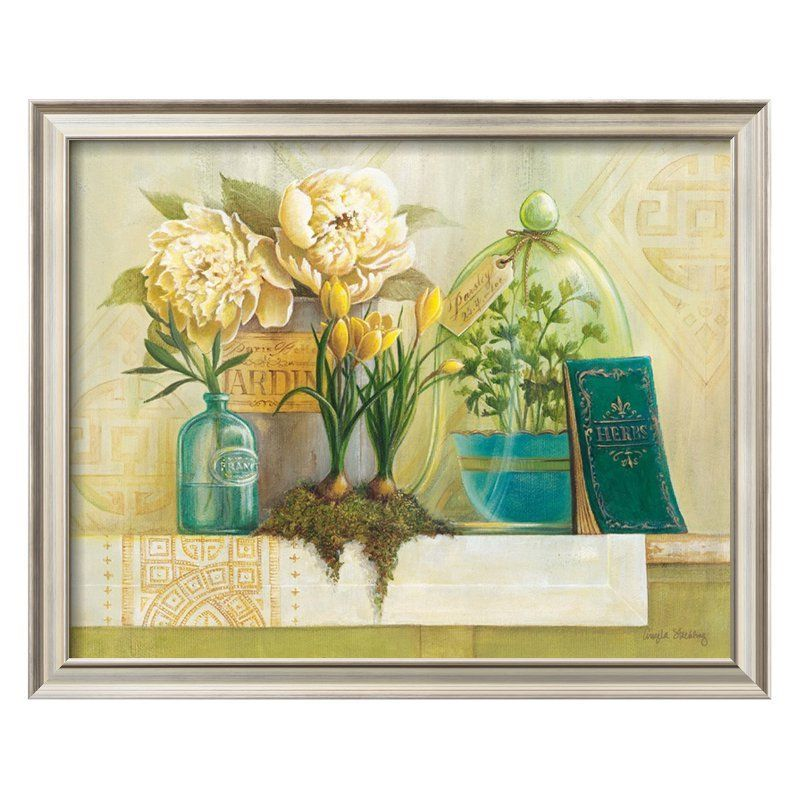 French Herbs Framed Wall Art - 13720204 | Products | Pinterest ...