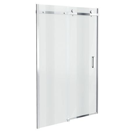 Orion Frameless Sliding Shower Door 1000mm Wide Victorian Plumbing Shower Doors Frameless Sliding Shower Doors Sliding Shower Door