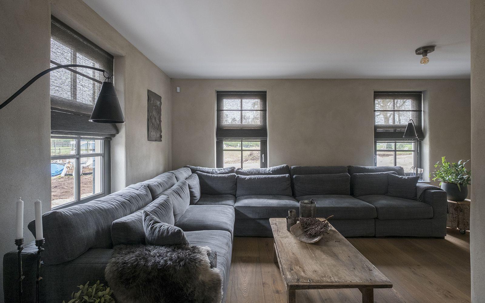 Binnenkijken In Landelijke Woning Met Jasno Folds Woonkamergordijnen Thuis Raamdecoratie