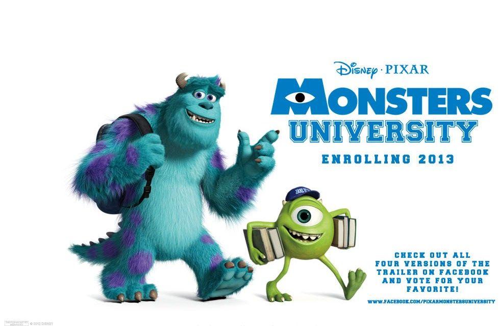 Cineast: Университет монстров / Monsters University. Украинский трейлер