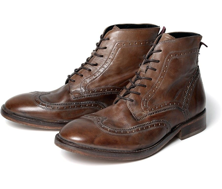 Mens H By Hudson Boots Anderson Tan
