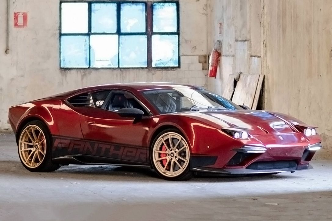 Ares Redesigns Resurrects The 1970s 660 Hp De Tomaso Pantera Supercar Super Cars Classic Cars Cars