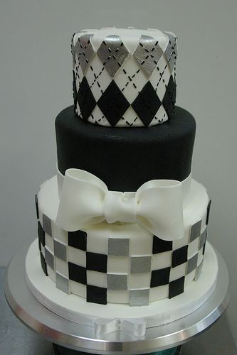 Argyle Cake In 2019 Baking Cake Checkered Cake