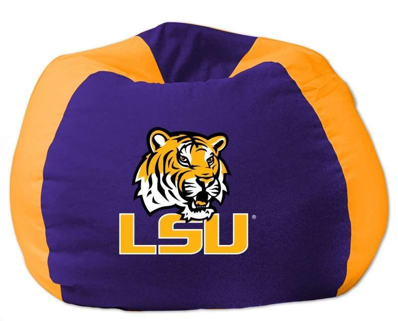 The Northwest Lsu Tigers Ncaa Bean Bag Chair 52 99 From Bedding Com Bean Bag Chair Bean Bag Lsu
