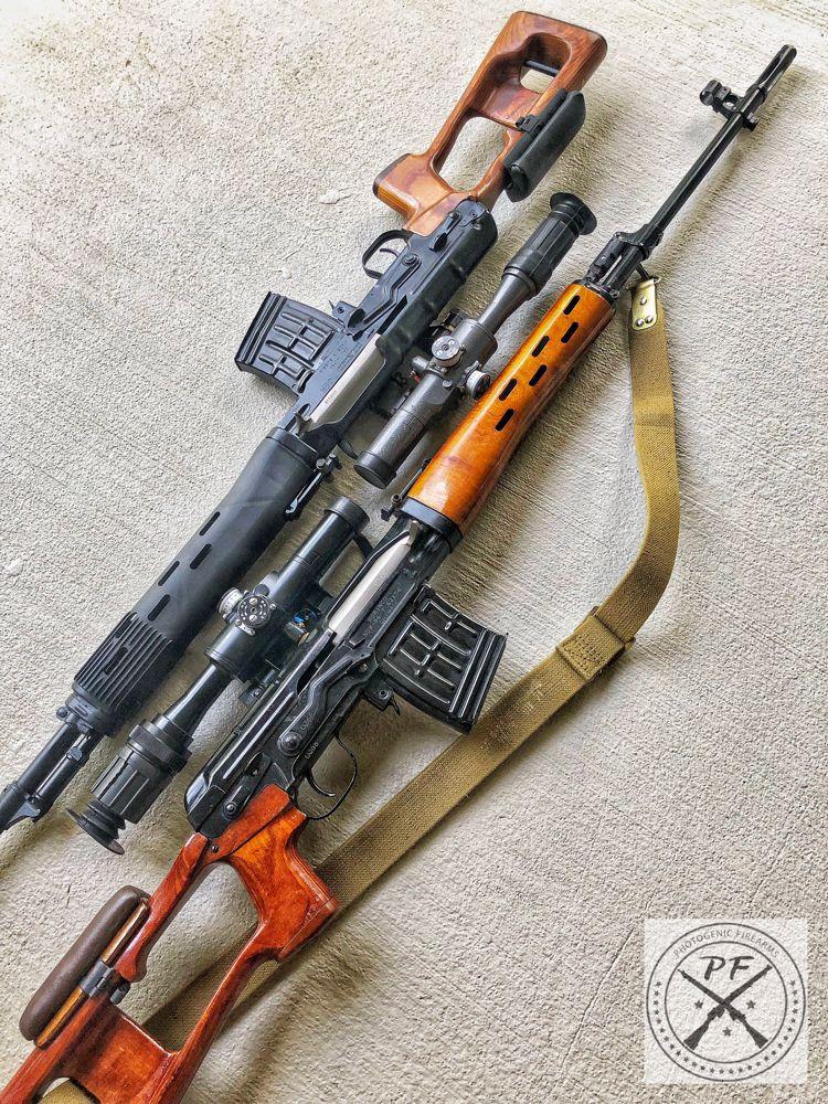 SVD Dragunovs, Russian Tigr & Chinese NDM-86 (PUBG) | firearms