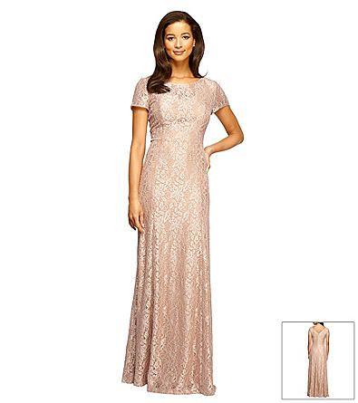 e84f6d13e0 Alex Evenings® Long Lace Gown