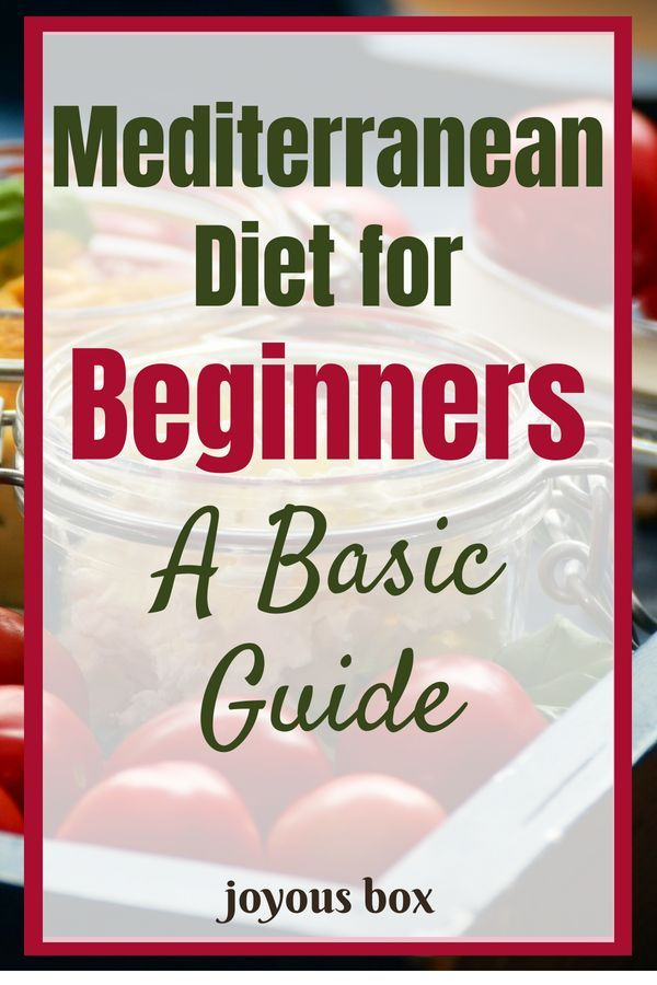 Mediterranean Diet for Complete Beginners: A Super Simple Guide
