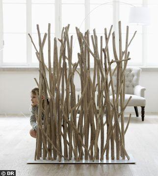 Bois : le design à l\'état brut | Driftwood, Salons and Branch art
