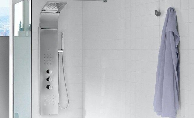 installation colonne de douche hydromassante