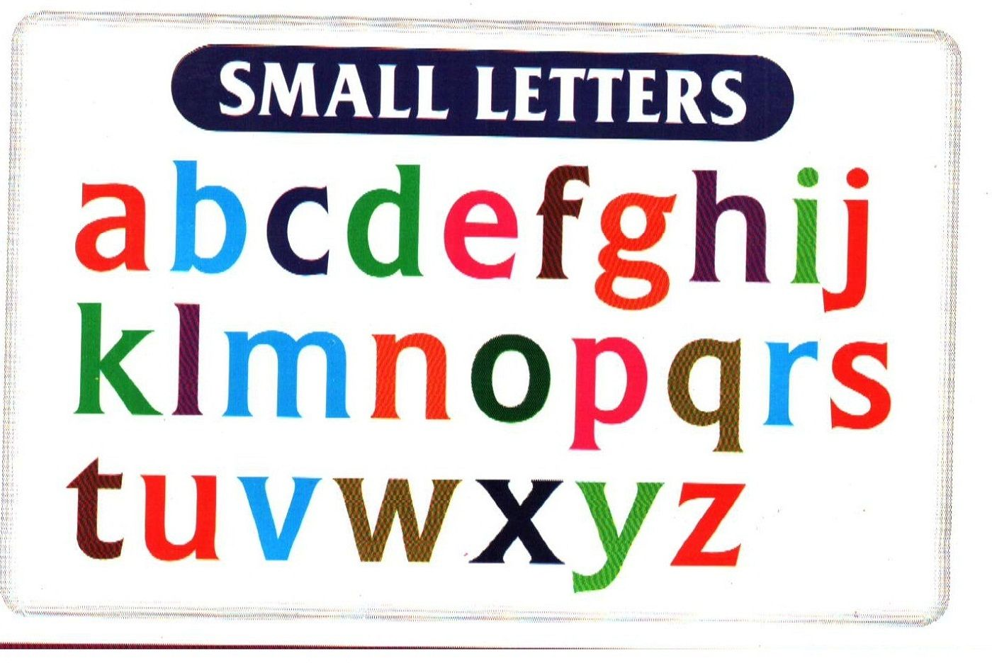 Small Alphabet Letters Printable | Ownerletter co