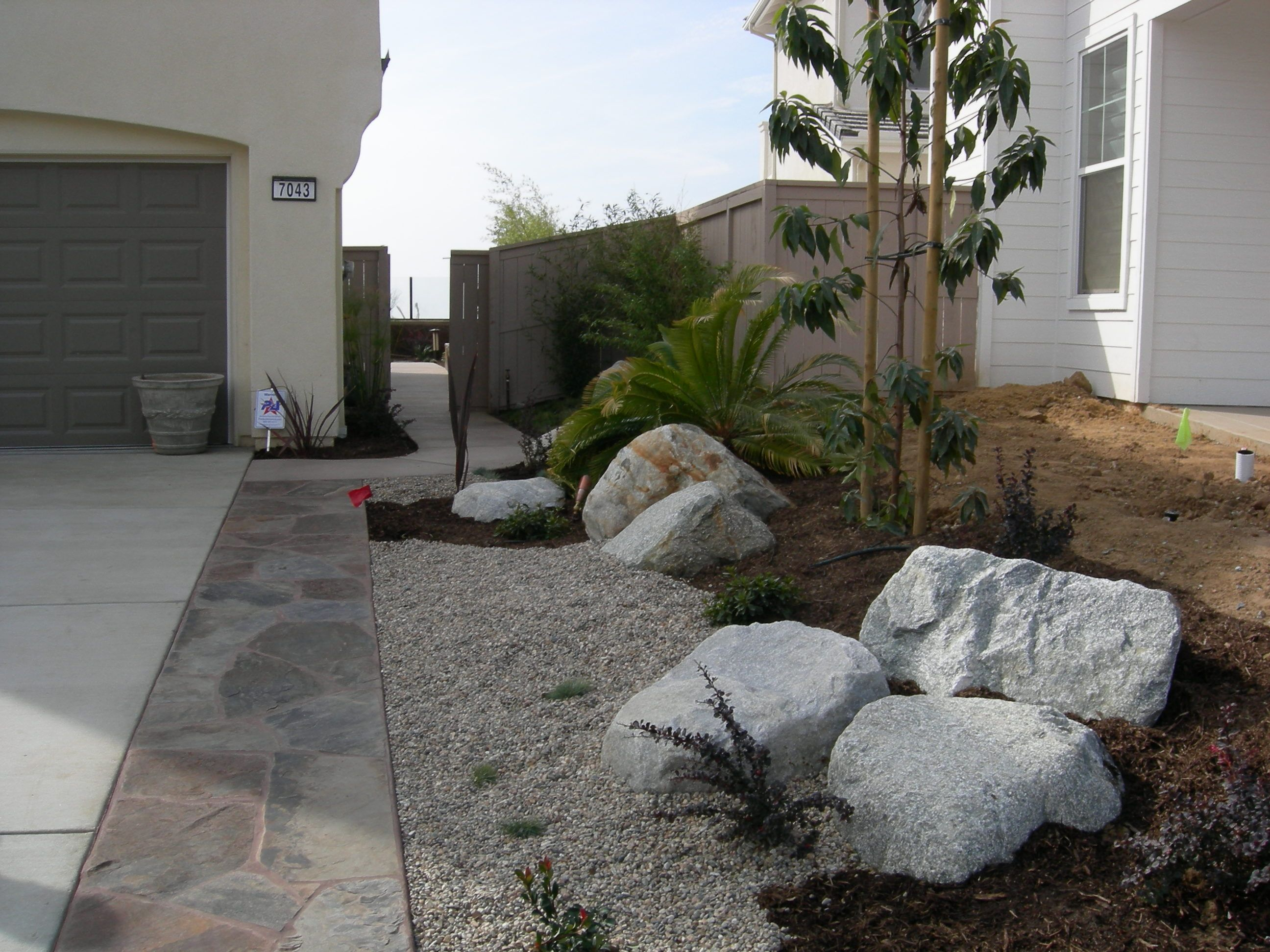 Boulders Landscaping Rocks Flagstone In Carlsbad Ca With