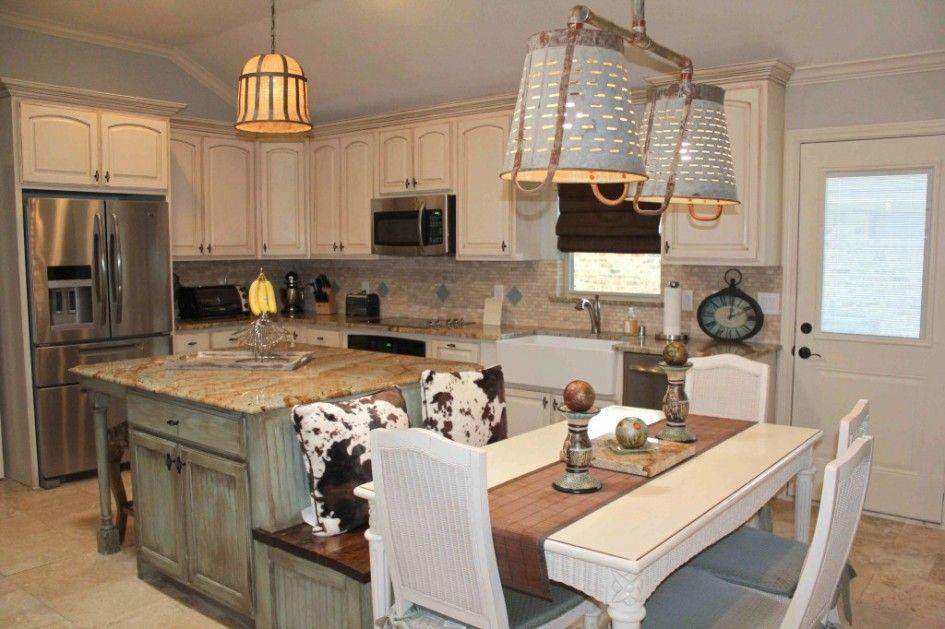 Kitchen Island With Built In Seating 3