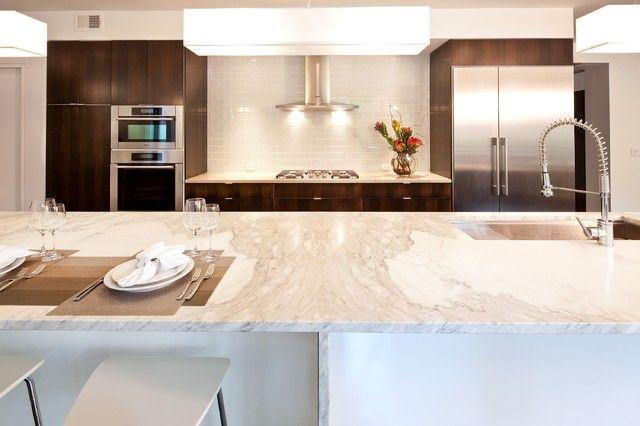 Best Calacatta Gold Solid Surface Calacatta Gold Kitchen 400 x 300