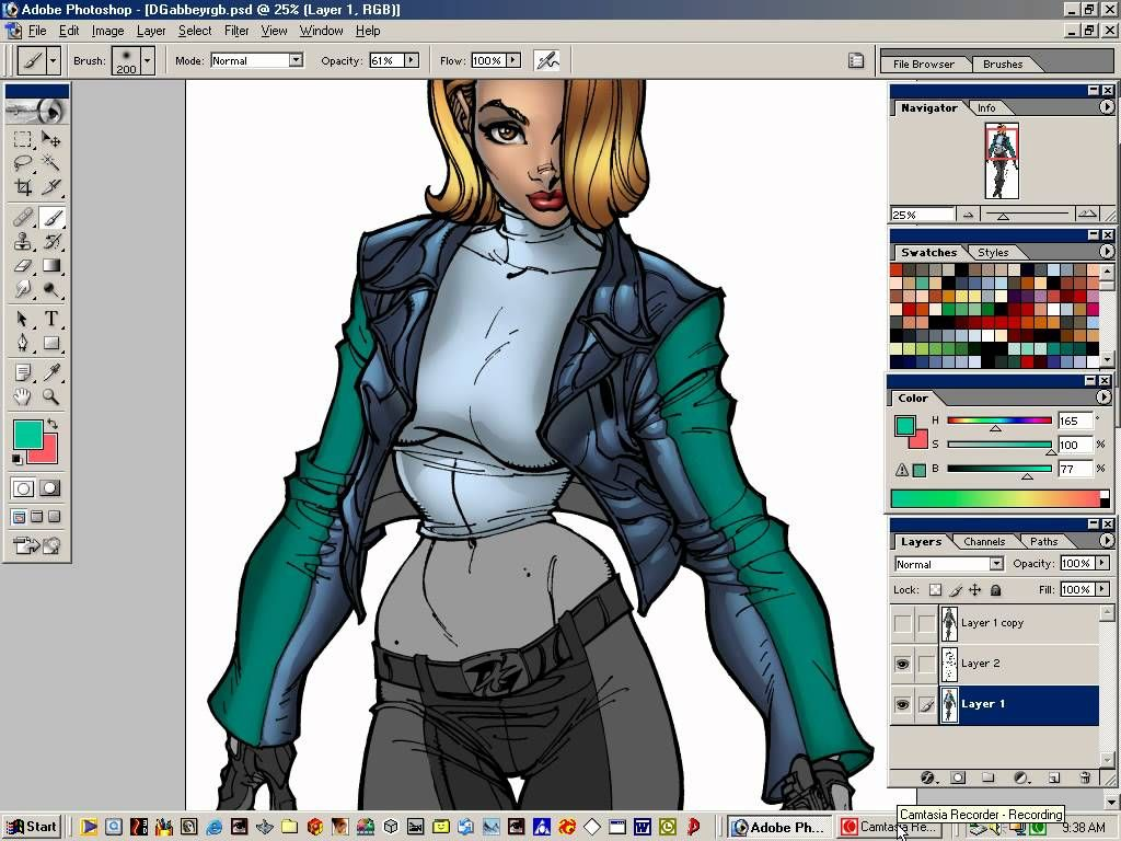 Digital Art Tutorials - Volume 1 - Comic Book Style Coloring ...