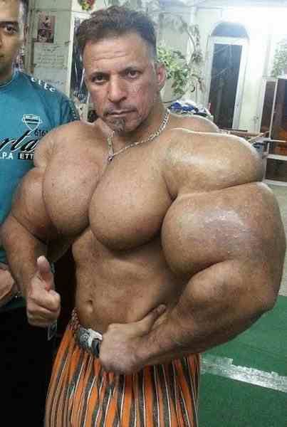 It's not synthol it's real muscle I swear    Places to Visit