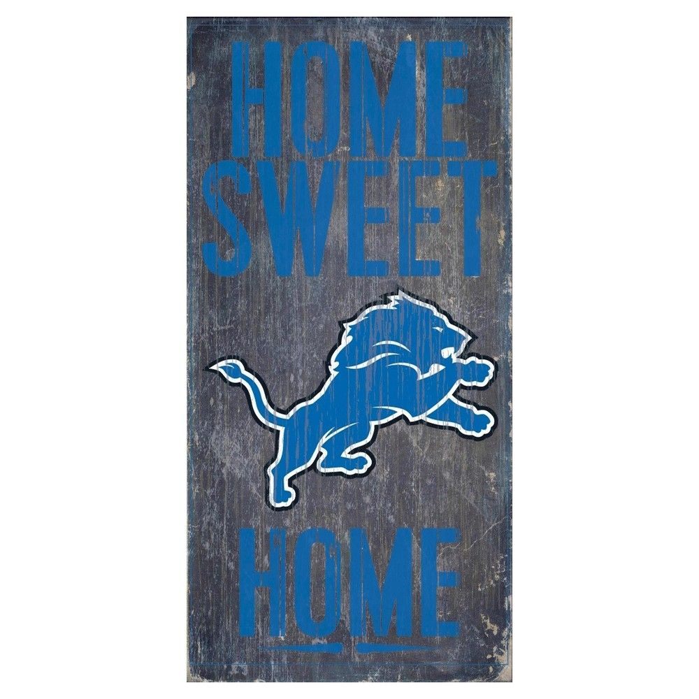 Fan Creations Carolina Panthers in This House Sign Multicolored