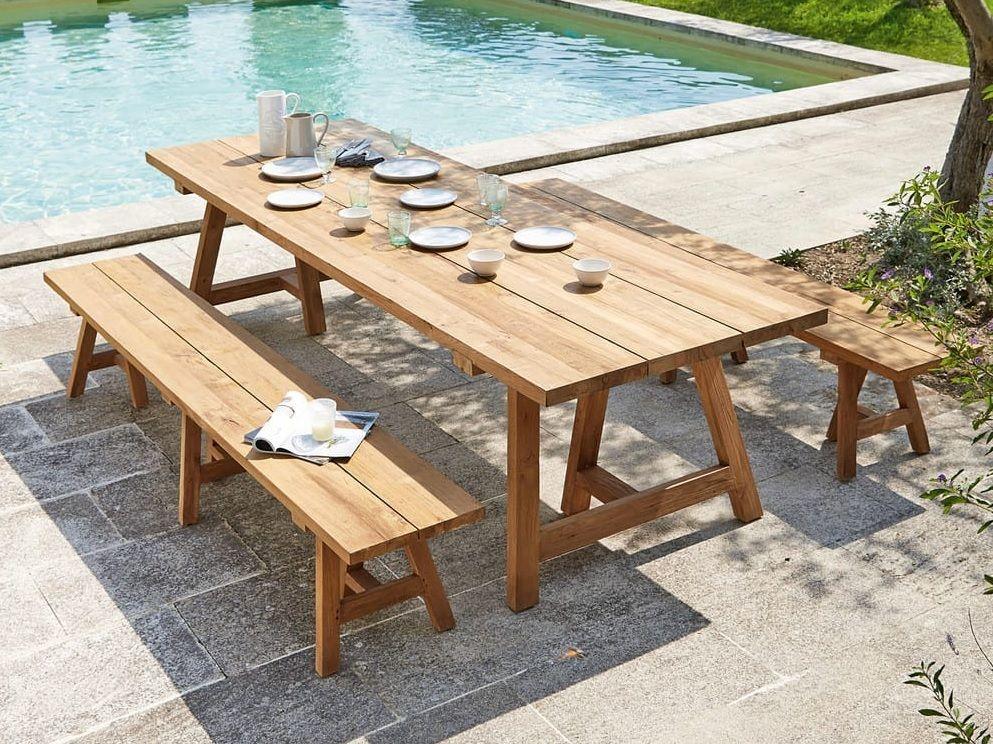 Une déco guinguette chic dans le jardin | Table | Outdoor ...