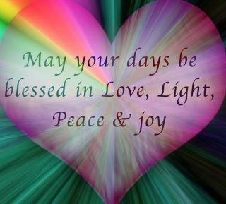 Light And Peace Quotes Quotesgram Love And Light Peace Light Peace Quotes