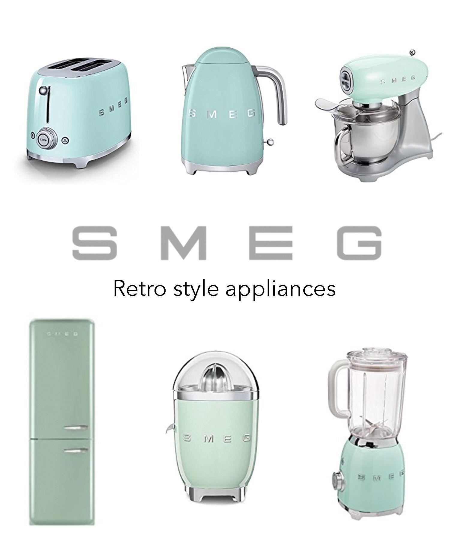 Smeg Kettle   Smeg kitchen, Vintage