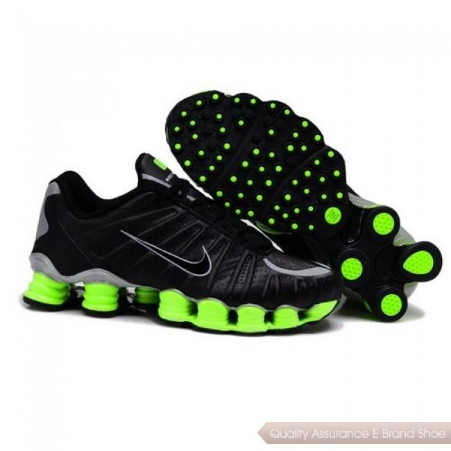Mens Nike Shox Tlx Black Red Shoe Cheap 100%