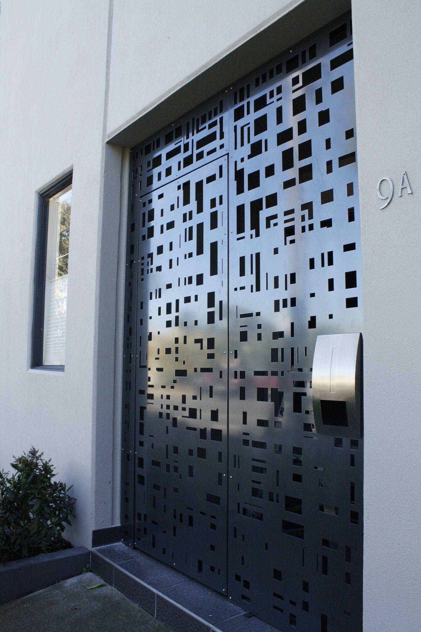 Aluminium doorway by plr design melbourne doors pinterest