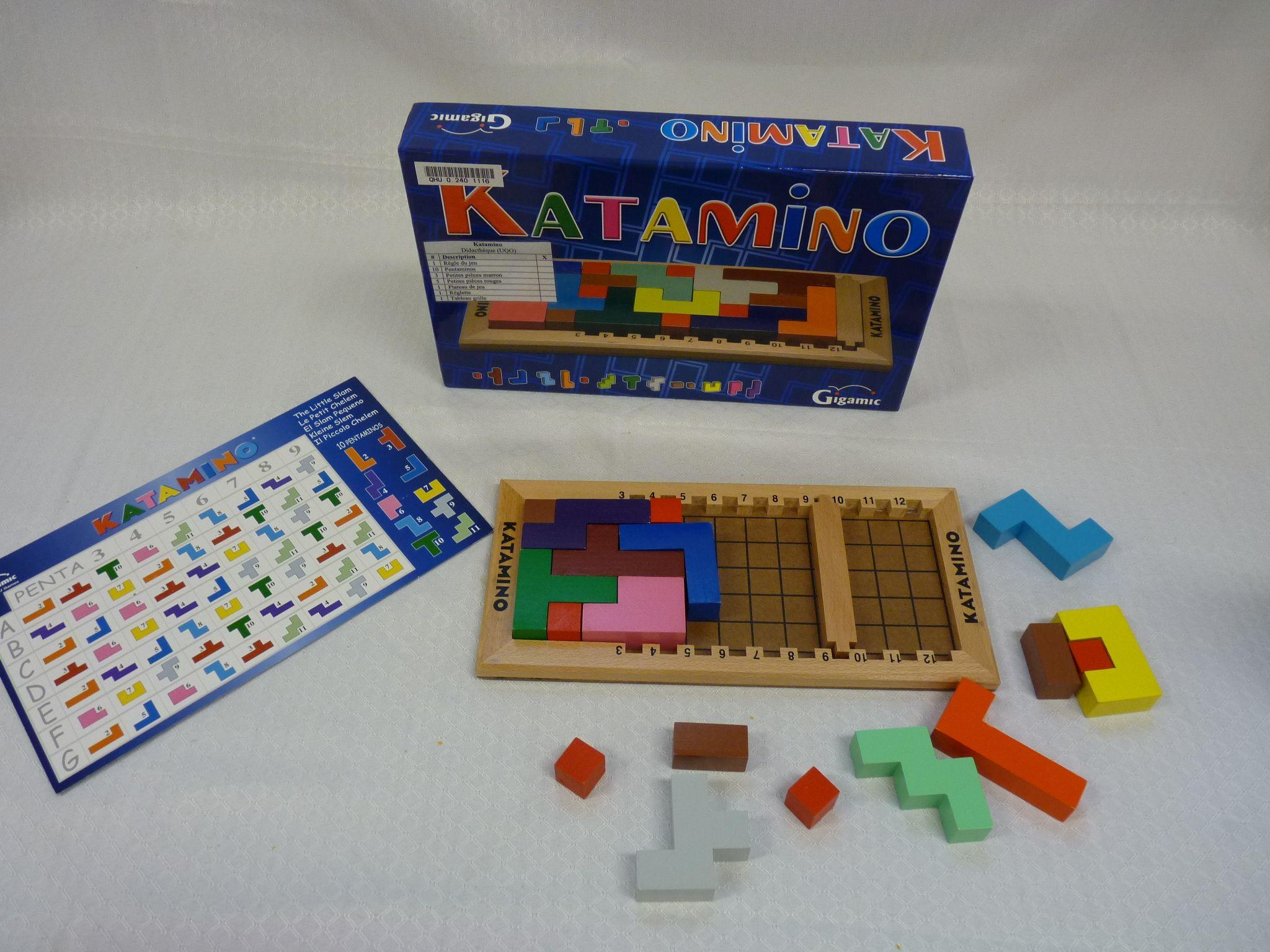 Titre katamino cote jeu 3314 katamino est un casse t te for Porte logique pdf