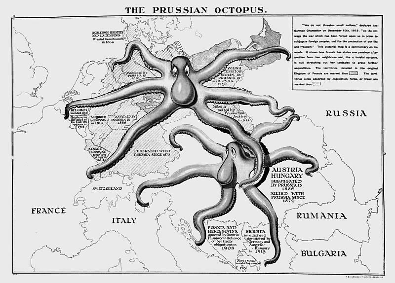 'The Prussian Octopus.'