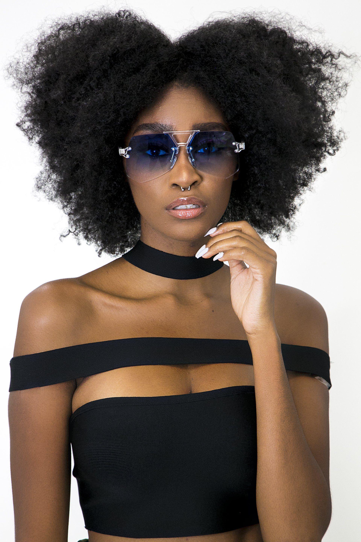 black women's makeup eyeshadow BlackwomensMakeup Red