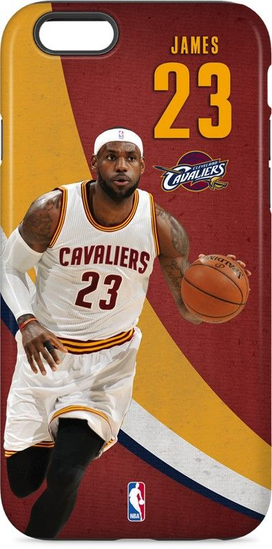 LeBron James Fastbreak iPhone 6 inkFusion Pro Case. Available as a case or  skin on multiple devices. Shop now at www.skinit.com  NBA  NBAfinals  Cavs  ... 6d85be29f
