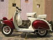 Love the 1960's Vespas