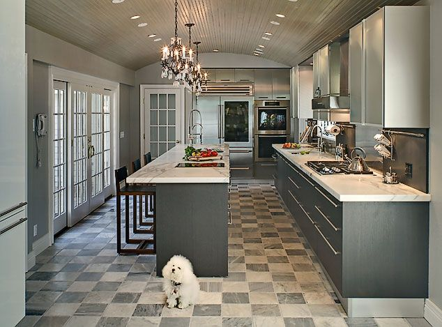 30 Incredible Transitional Kitchen Design | Kitchen design, Kitchens ...