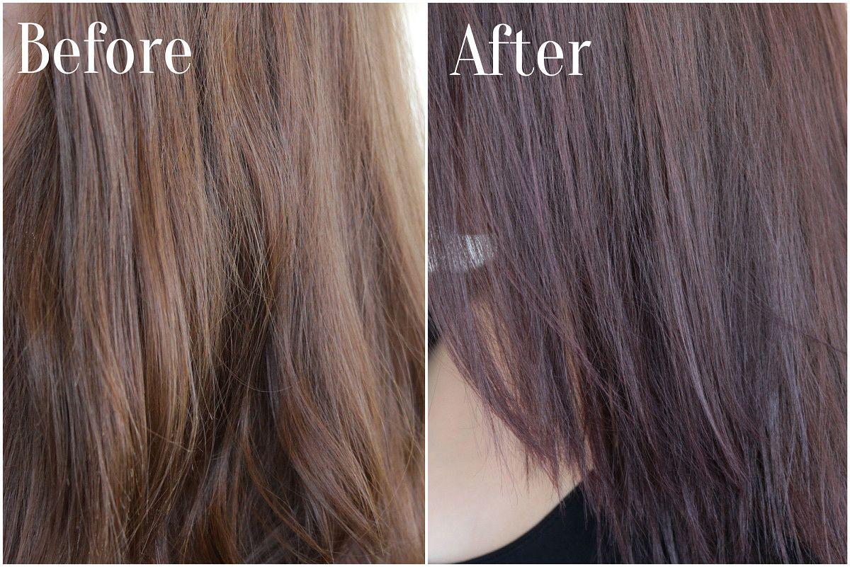 Karima Has Purple Hair Maria Nila Colour Refresh Hair