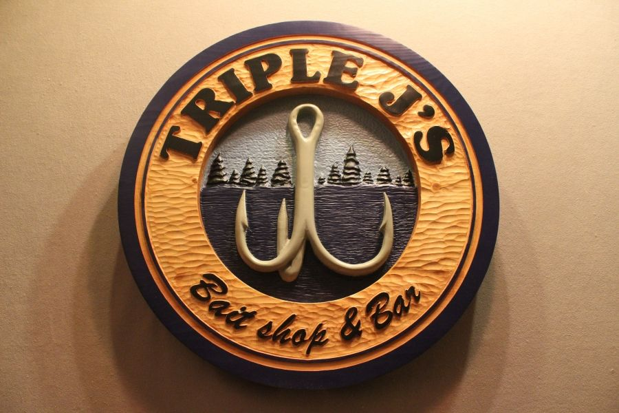 Custom Carved Wood Signs Wood Carving Wooden Signs Chicago Http Www Lazyriverstudio Com Cowboy Fora Da Lei