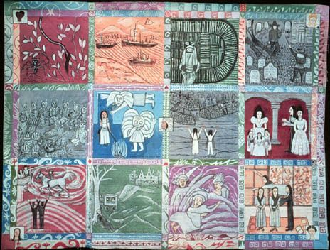 Crown Heights Children's History Quilt | Faith Ringgold Art Lesson ... : quilts history - Adamdwight.com