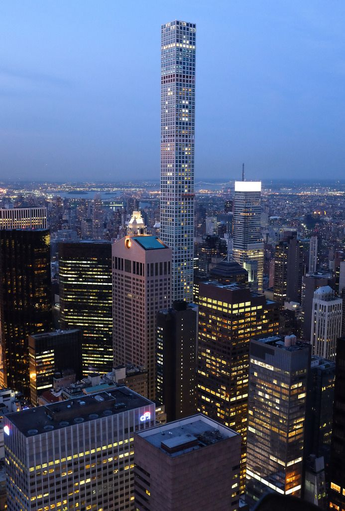 432 Park Avenue Nyc The Tallest