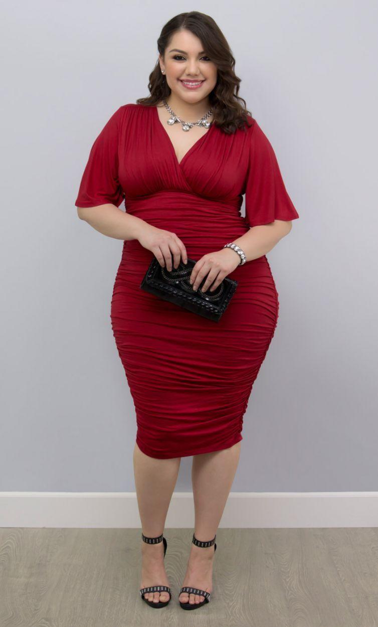 Rumor ruched dresssale misc my style pinterest vixen curvy