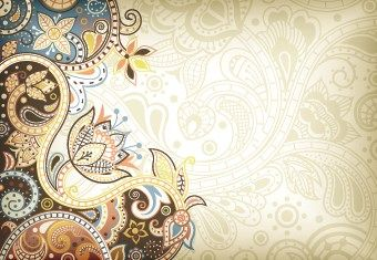Floral Decorative Pattern Background 06 Vector For Free Download