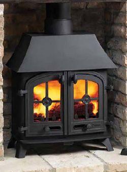 Yeoman Exe Wood Burning 2 Door Stove Stove Cottage Fireplace Wood