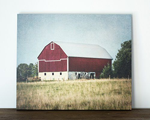 Decoration Red Barn Canvas Art Rustic Country Wall Decor 20x24 Inch Ready To Hang Canvas Art Chec Country Wall Decor Barn Wall Art Rustic Country Wall Decor
