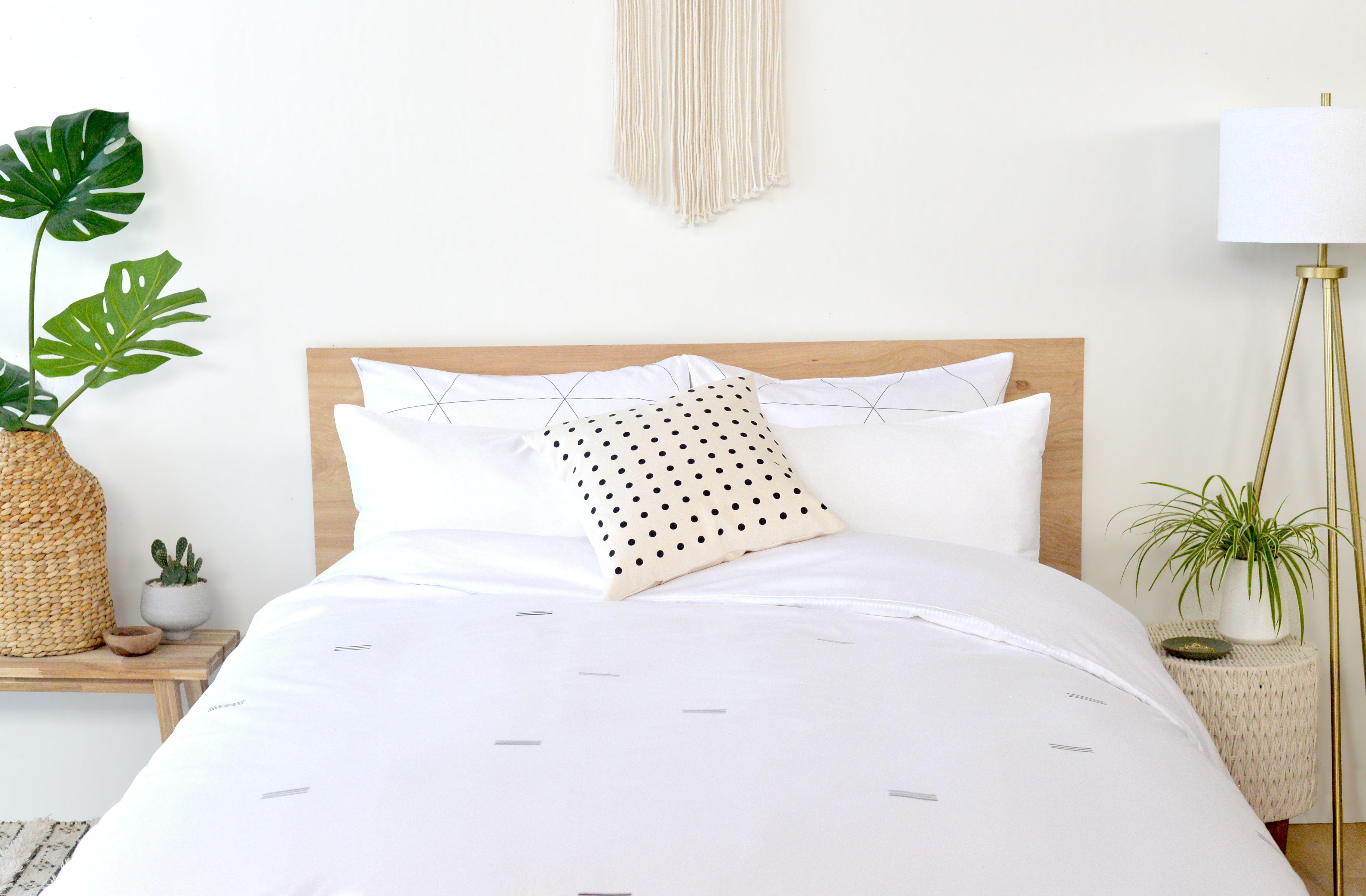 Senora Duvet Cover + Big Dots Pop Pillow Modern Bedding,