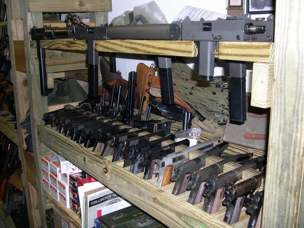 Homemade Gun Rack