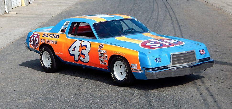 Richard Petty S Last Chrysler Stock Car A 1977 Dodge Magnum Nascar Race Cars Nascar Cars Old Race Cars